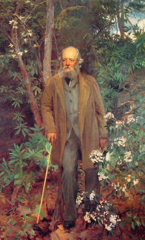 Frederick Law Olmsted, oil painting by John Singer Sargent, 1895, Biltmore Estate, Asheville, North Carolina. Image via Wikipedia.