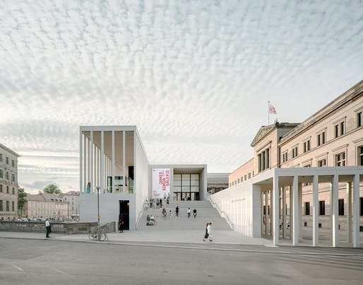 James-Simon-Galerie in Berlin, Germany by David Chipperfield Architects Berlin. Photo: Simon Menges.