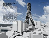 Microcosm Tower : Vertical Urban Farm