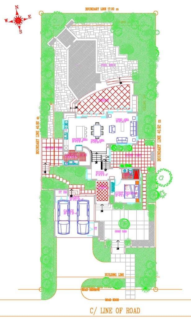 Original Ground Floor Plan (AutoCAD)