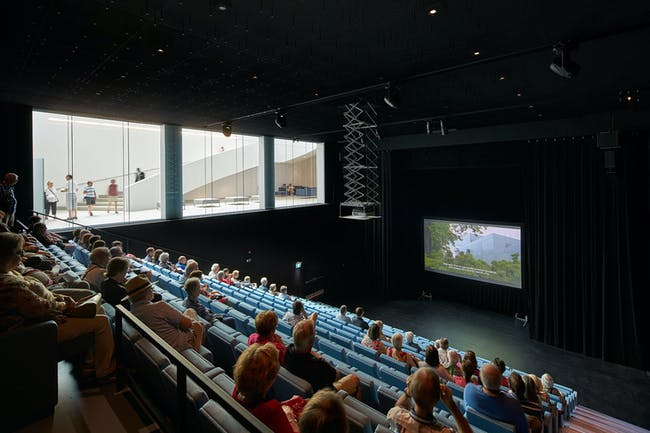 Auditorium. Photo by Bruce Damonte.