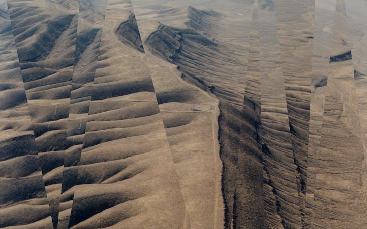 Yucca Mountain, Nevada.