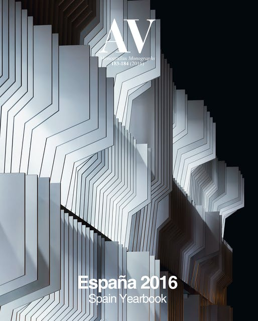 AV Monographs 183-84: Spain Yearbook. Image courtesy of Arquitectura Viva.