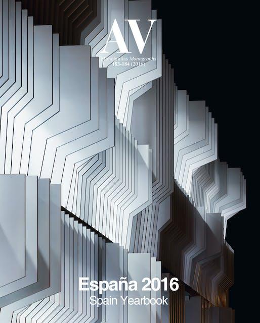 AV Monographs 183-84: Spain Yearbook. Image courtesy of Arquitectura Viva.