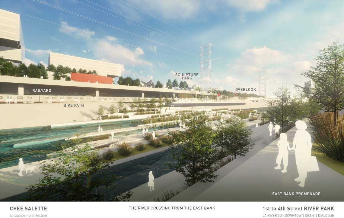 The City Of Los Angeles And Its Bureau Of Engineering Recently Worked With  Seven Design Firms To Reenvision Seven Sections Of The L.A. River Through  ...