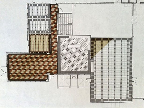 Floor pattern design