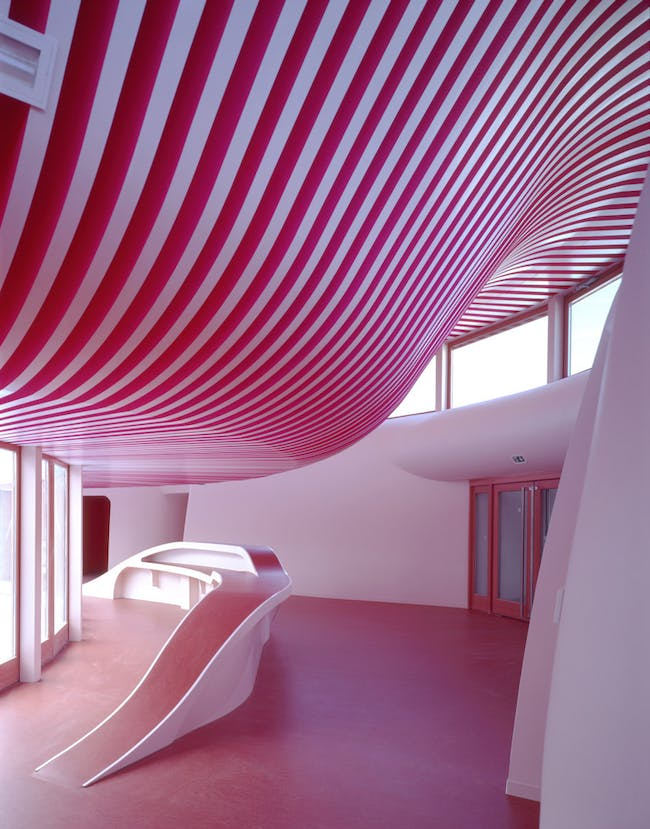 Nursery in Sarreguemines, France by Paul Le Quernec and Michel Grasso (Photo: Guillaume Duret)