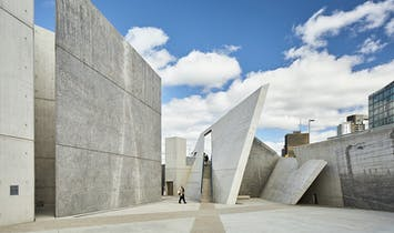 New photographs show Daniel Libeskind's National Holocaust Monument in greater detail