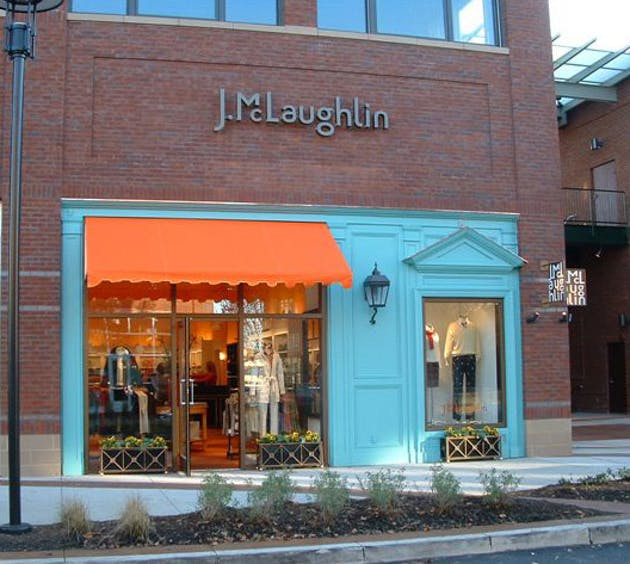 Retail Store Front: Director Of Design And Construction