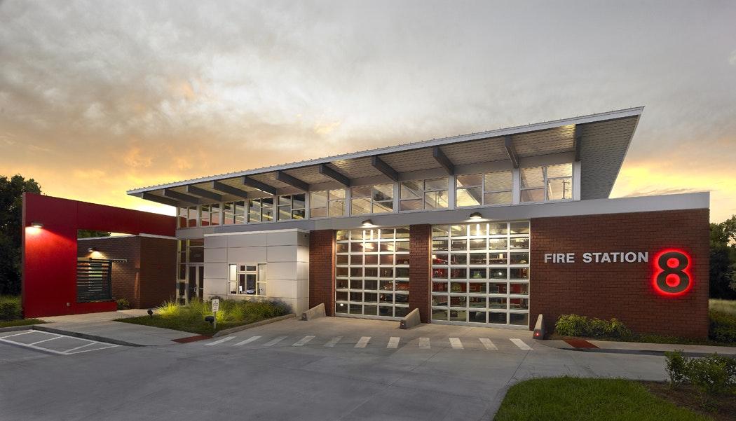 Fire Station 8 Wannemacher Jensen Architects Archinect