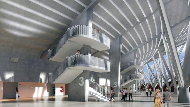 Philippine arena. Image courtesy of Populous