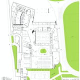 Plan 1F. Image courtesy of OPEN Architecture