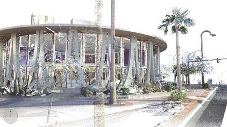Compiling A Point Cloud For Architectural Restoration Of A Googie Style  U002760s Bank Via John