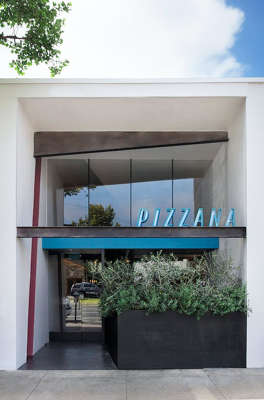 Pizzana, Los Angeles, CA. Designed by: a l m project, inc. Photo: Trevor Dixon