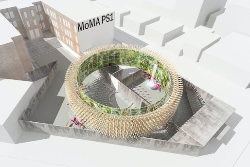 Hórama Rama by Pedro & Juana, winner of the 2019 Young Architects Program. Ana Paula Ruiz Galindo & Mecky Reuss. Mexico City, Mexico