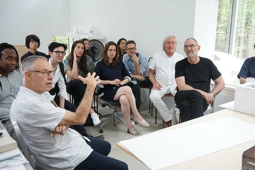 Photo courtesy Steven Myron Holl Foundation/TSpace Summer Architecture Fellowship.