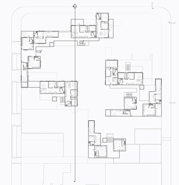 Floor Plan Level 3, (Typ. for 5 & 7)