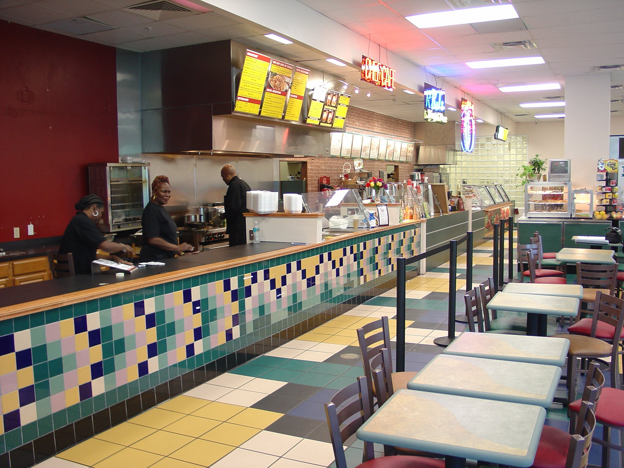 subway interior food court james wells archinect. Black Bedroom Furniture Sets. Home Design Ideas