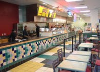 Subway Interior Food Court