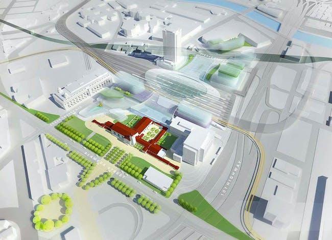 L.A. Metro Union Station master plan - Final Phase 1