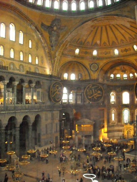 Got back from istanbul, very impressed with the interior of Ayasofya