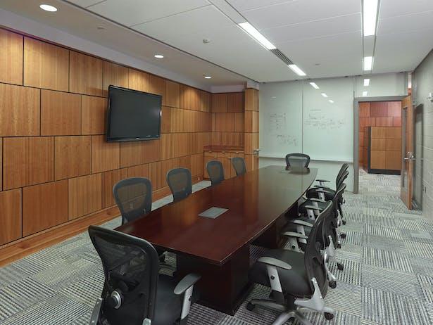 Standard conference room.