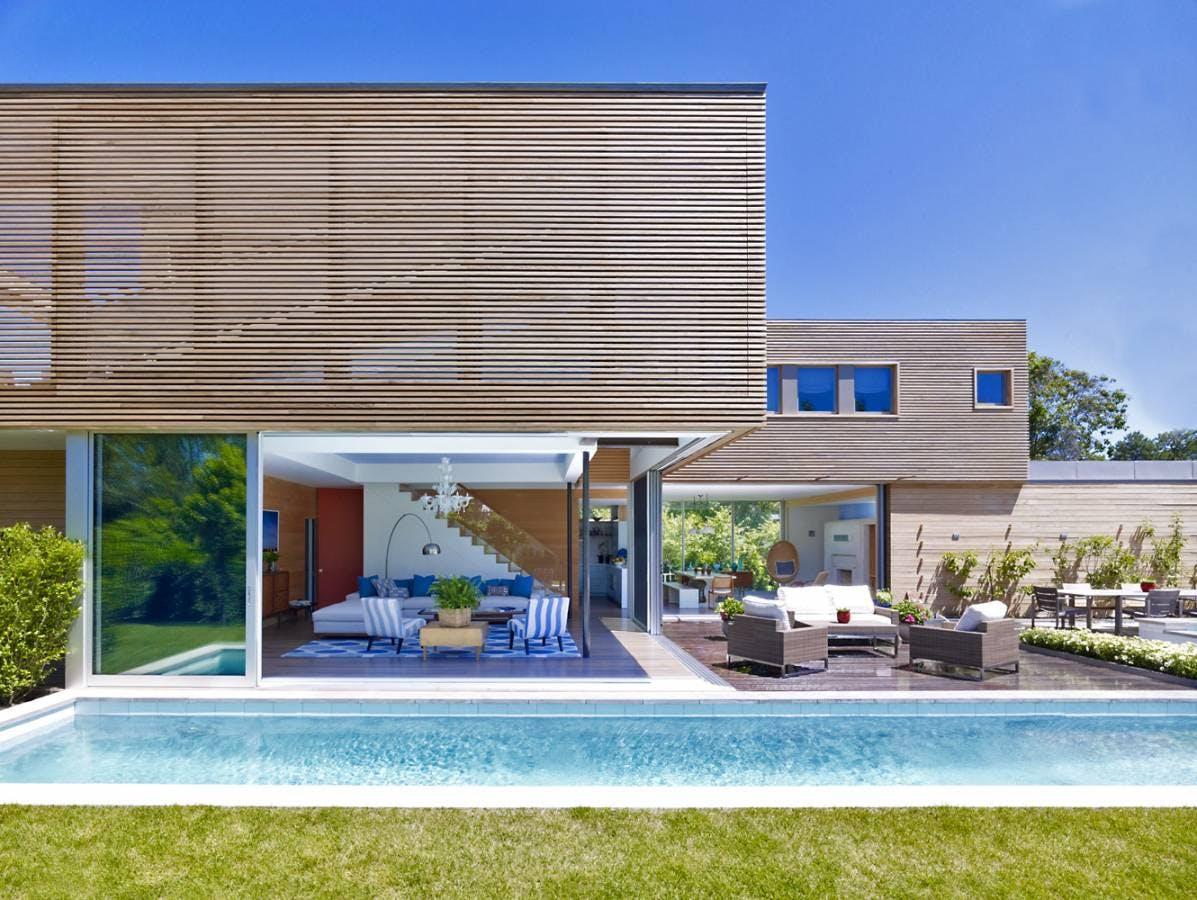 Modern summer house austin patterson disston architects - Residence secondaire austin patterson disston ...