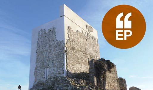 Restoration of Matrera Castle by Carlos Quevedo Rojas