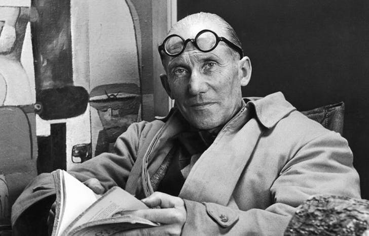 Le Corbusier in 1956. Image: public domain.