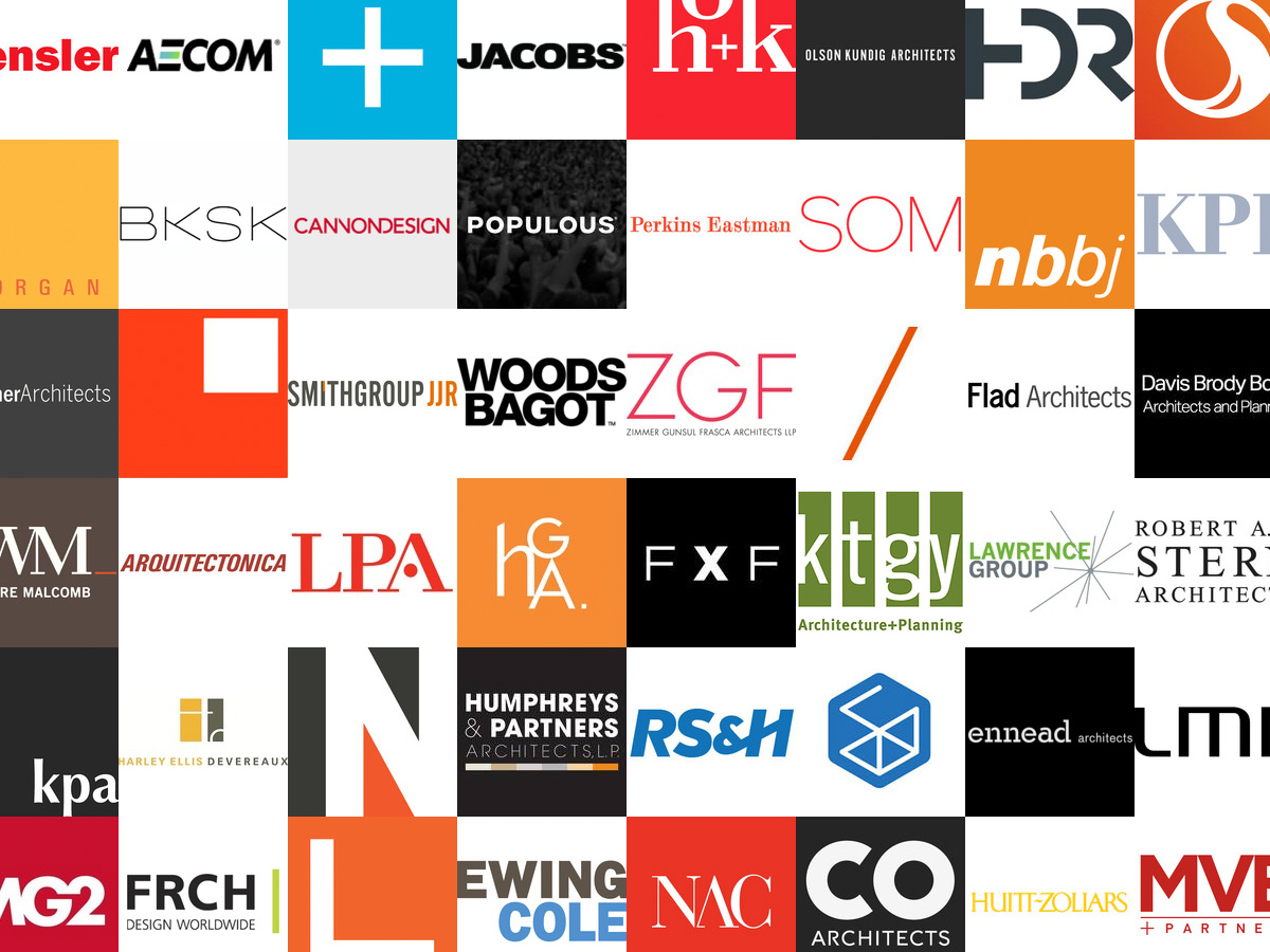 These are the 300 top revenuegenerating architecture firms in the
