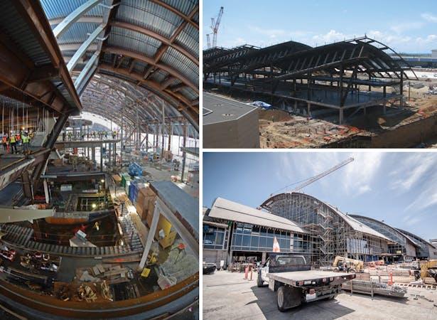 LAX Tom Bradley International Terminal: Construction Photos