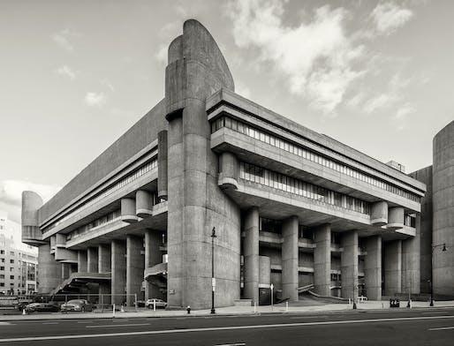 Boston Government Service Center (Hurley Building), Boston, MA, Paul Rudolph, 1962-71. Photo © Bob O'Connor.
