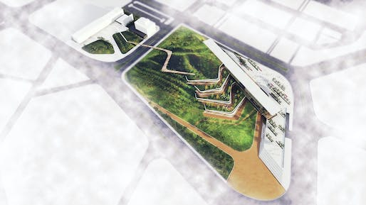 Ostim Eco-Park proposal by ONZ Architects. Image Courtesy of ONZ Architects.