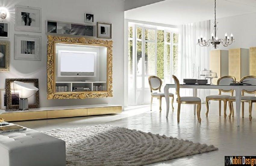Interior design ideas with classic posh furniture