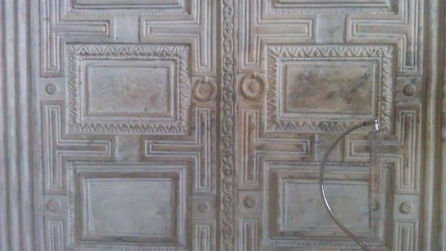 Marble door in Sophia