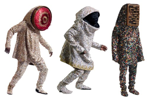 Soundsuits by Nick Cave, 2012