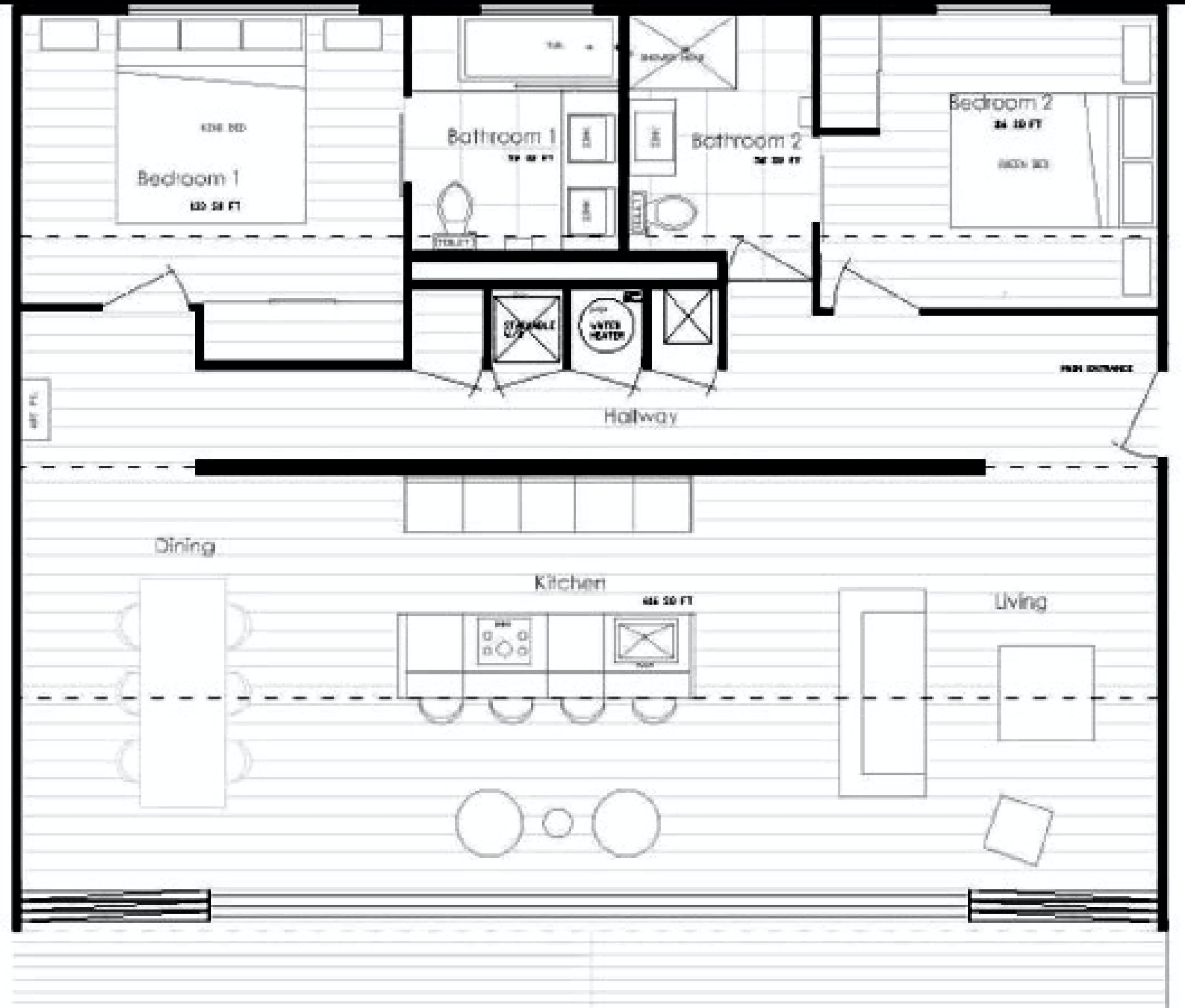 Iq hause christopher bord archinect - Shipping container home plans and drawings ...
