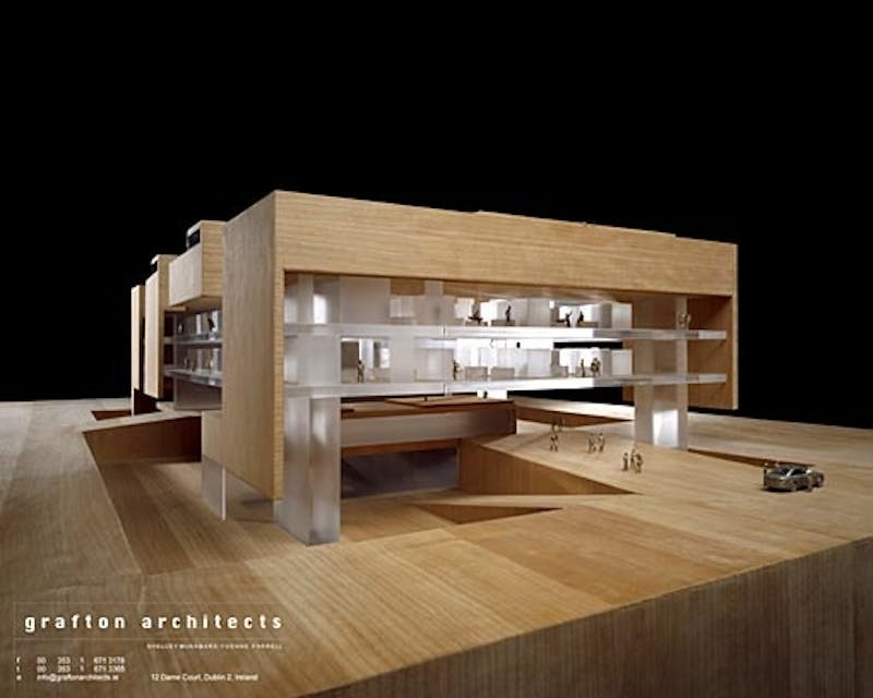 Bustler 39 s editor picks for architecture design events for Grafton architects