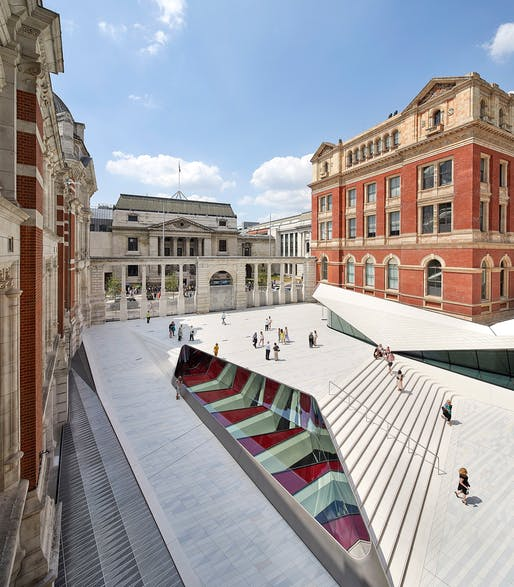 Award for Construction Integration​​: V&A Exhibition Road Quarter. Photo: Hufton+Crow.