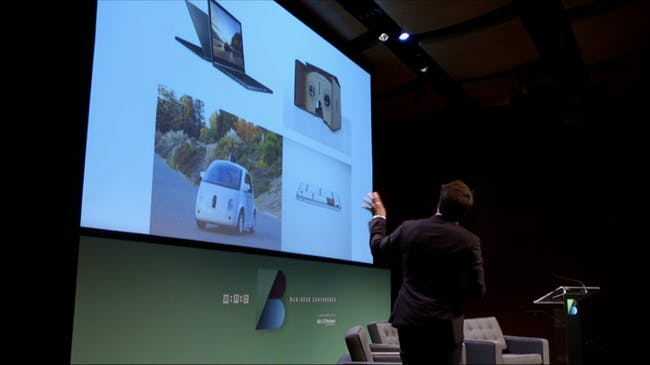 Bjarke gets into it (screenshot of livestream courtesy Archinect).