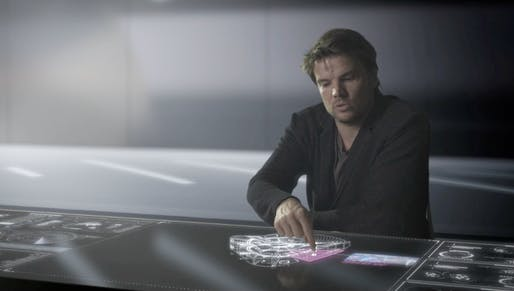 Screenshot of Bjarke Ingels introducing his upcoming recreational hub, Europa City.