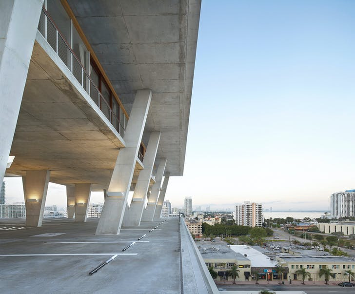Joint MCHAP winning project: Herzog & De Meuron's 1111 Lincoln Road in Miami Beach, Florida. Photo by Hufton + Crow, courtesy of Mies Crown Hall Americas Prize/IIT.