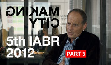 Archinect Interviews George Brugmans, IABR - Part 3, São Paulo, Rotterdam and Beyond