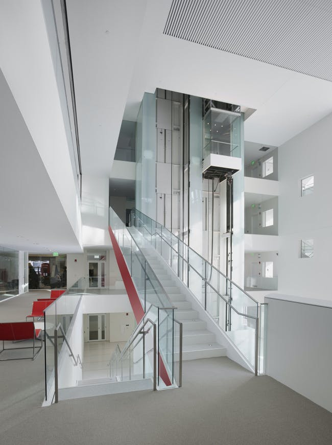 MIT Media Lab in Cambridge, MA by Leers Weinzapfel Associates (Architect of Record) in Association with Maki and Associates