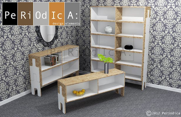 Stackable Bookcase