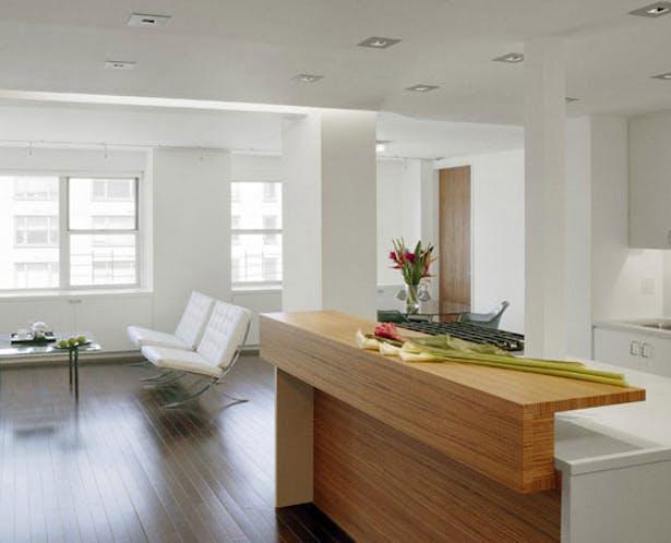 East Side Duplex - Living Room
