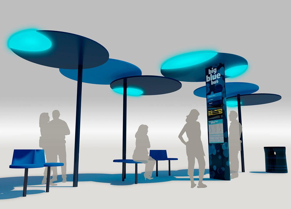 HiTech Bus Stops Win AIA Next LA Design Award