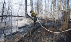 What's left from the Alberta wildfire