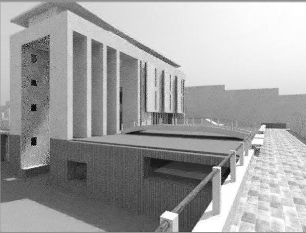 Design V - Venetian Cemetery & Mausoleum