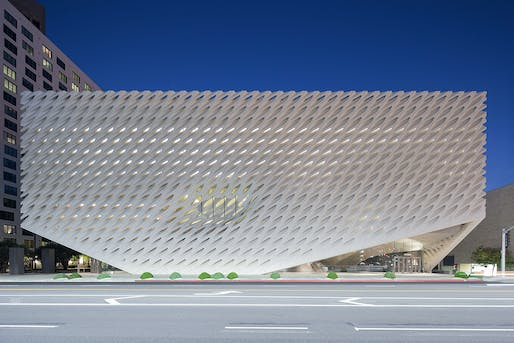 The Broad; Los Angeles by Diller Scofidio + Renfro, Associate Firm: Gensler. Photo: Iwan Baan.
